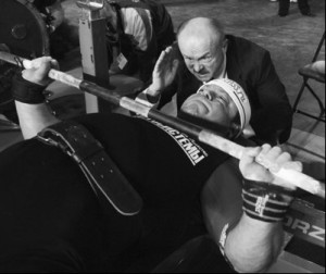 Vladimir Kravtsov Bench Press