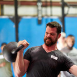 Half-Bodyweight Kettlebell Press