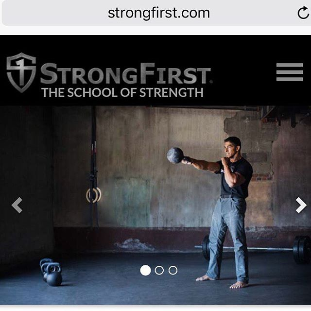 Oh right we also launched a new StrongFirst website hellip