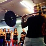 Build a Barbell Military Press on a Kettlebell Foundation