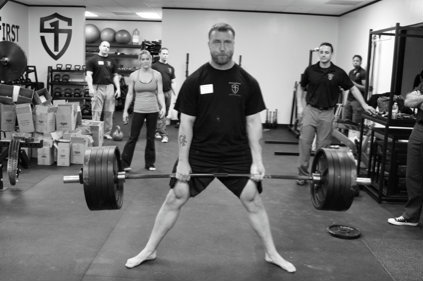 Strong and humble—Derek Miller, SFG II and member of the StrongFirst deadlift team