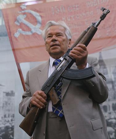 Kalashnikov and his AK-47