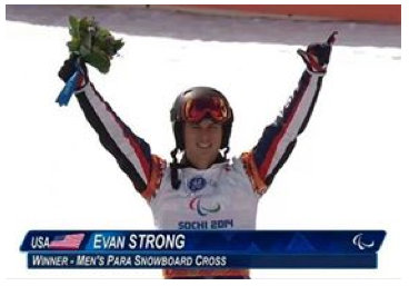 Evan Strong Gold Medal