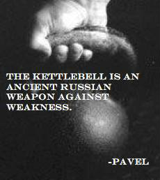 Ancient Russian weapon against weakness