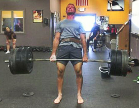 TNT TSC Training Deadlift