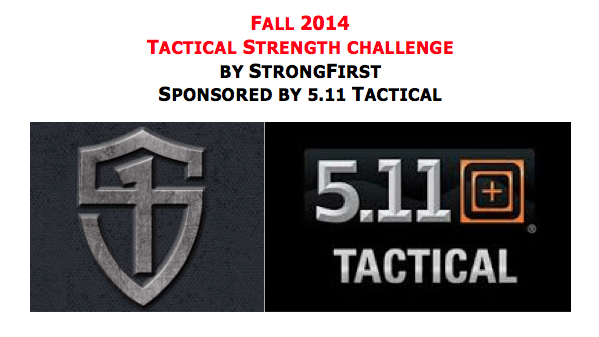 Tactical Strength Challenge Sponsored by 5.11