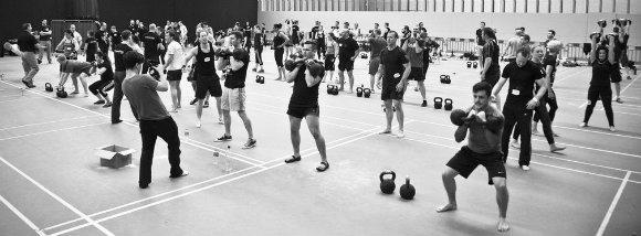 Group Kettlebell Workout