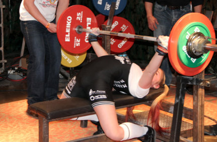 Maryana Naumova Bench Press