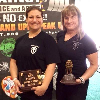 Ellen Stein and Lisa Burke - Deadlift Team