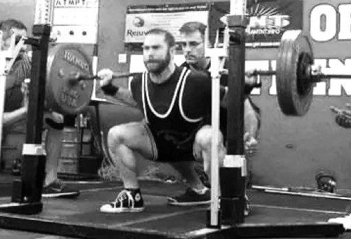 Jason Marshall Powerlifting Back Squat