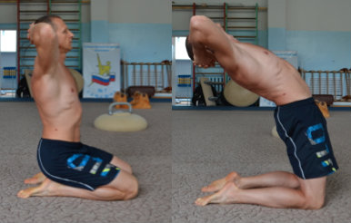Kettlebell flexibility exercises