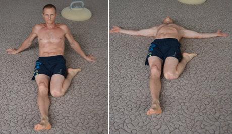 Kettlebell flexibility training