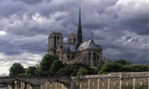 The architects of Notre-Dame took the long view.