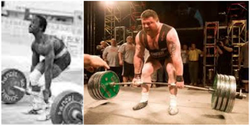 Lamar Gant vs Andy Bolton Deadlift Positions