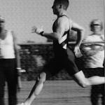 Franz Snideman, Senior SFG, a 10.7sec 100m sprinter