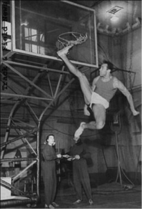 Soviet high jump legend Valery Brumel