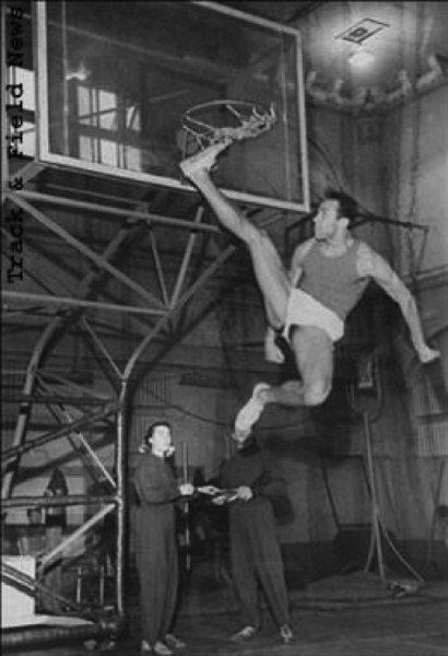 Valery Brumel Jumping Training