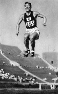 Chuhei Nambu, famous Japanese long and triple jumper