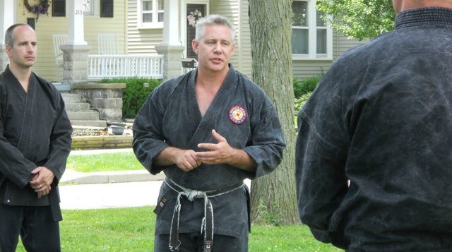 StrongFirst Instructor Gary Music Teaches Karate