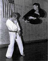 StrongFirst instructor Gary Music doing karate