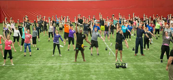 StrongFirst certification at The Dome