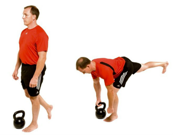 SLDL Single Leg Deadlift FMS