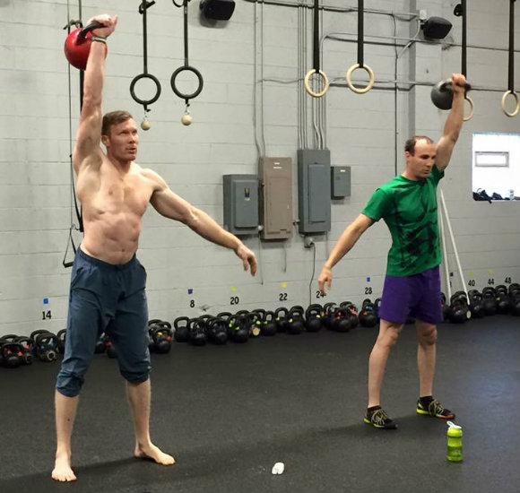 Derek and Ryan Toshner Training for TSC