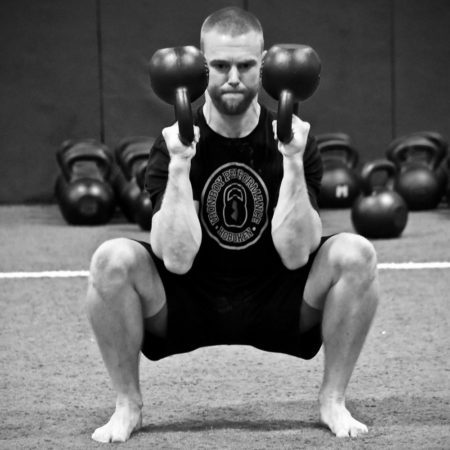 Výsledek obrázku pro kettlebell bottom up squat