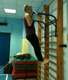 First Pull-Up Training for Senior Women