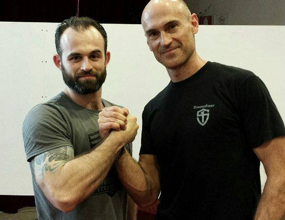 Louka Kurcer and Pavel Tsatsouline of StrongFirst