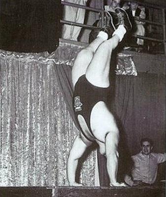 Doug Hepburn Handstand Push-Up