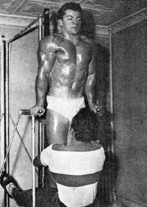 Marvin Eder Training Calisthenics