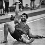 A Critical Get-up Transition: From the Elbow to the Hand