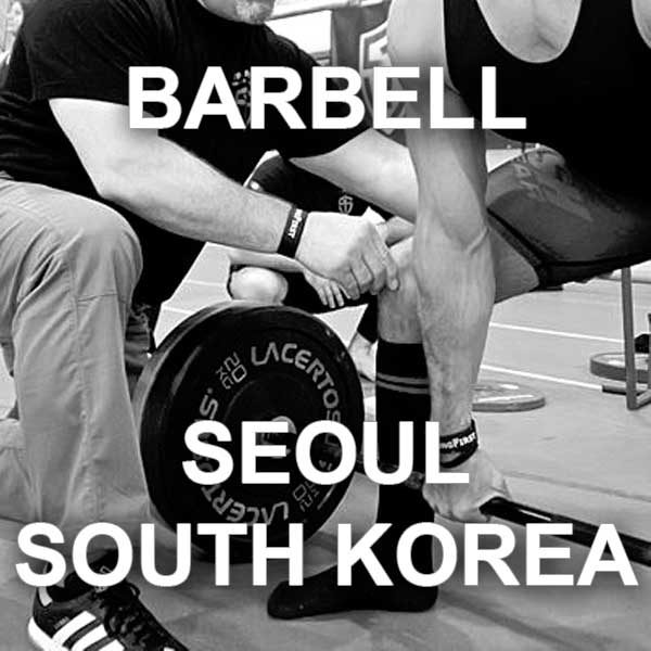 StrongFirst Barbell instructor certification in Seoul, Republic of Korea