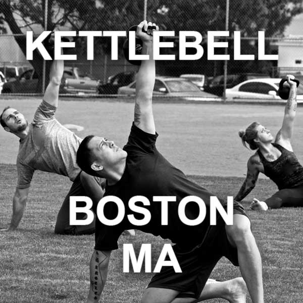 StrongFirst kettlebell course Boston, MA