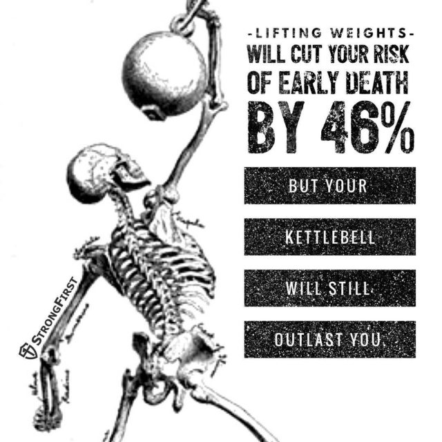 Happy Halloween! thatsdark kettlebell strength StrongFirst