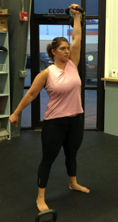 Sherri Trained with StrongFirst and the Maffetone Method