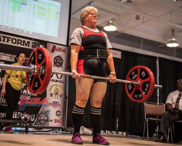 Cindy Amatuzzo Hard Style Powerlifter