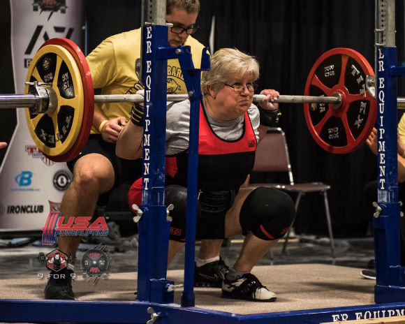 Cindy Amatuzzo Hard Style Powerlifter