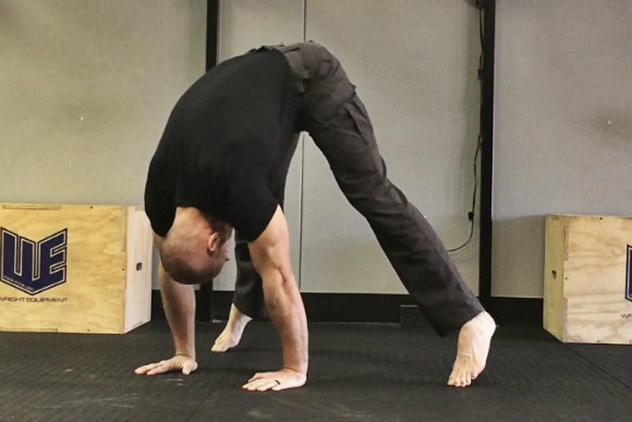 Stacked Pike Straddle Hold