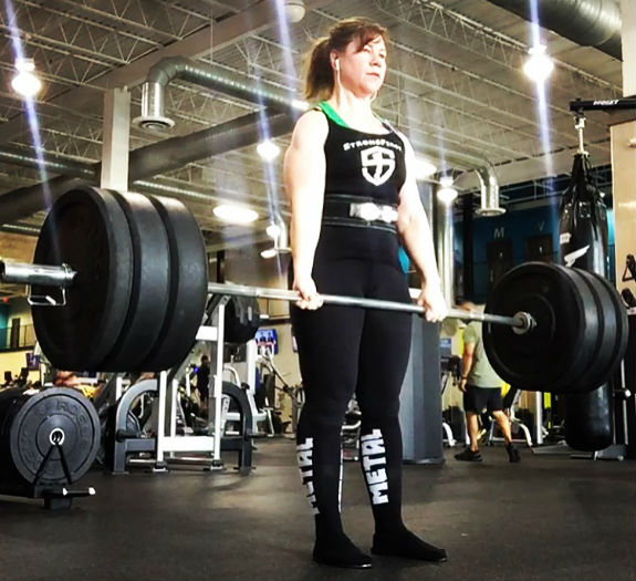 Tracy Hard Style Powerlifter