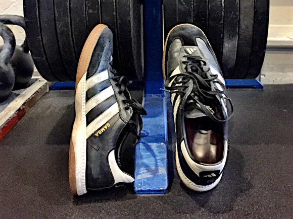 My Adidas Samba Shoes
