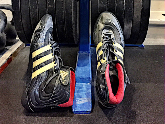 My Adidas Wrestling Shoes