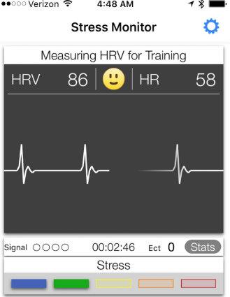 SweetBeat HRV App