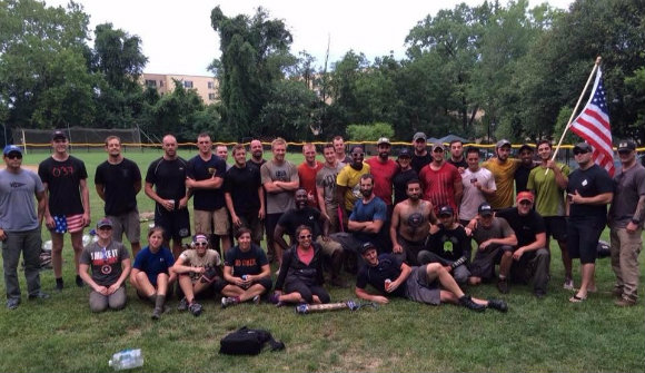 At the completion of our GORUCK Heavy.