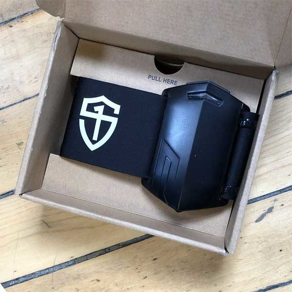 StrongFirst PUSH band unpacking
