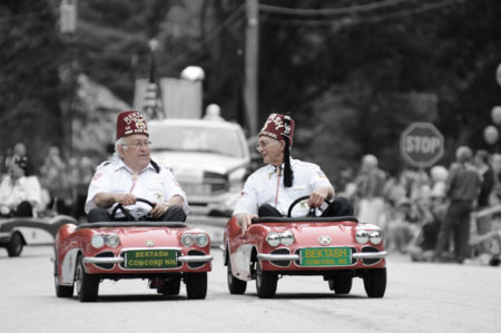 Shriners small cars