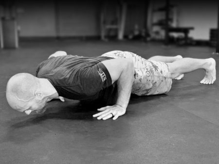 bottom of pushup