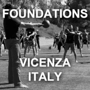 Foundations Course Vicenza Italy