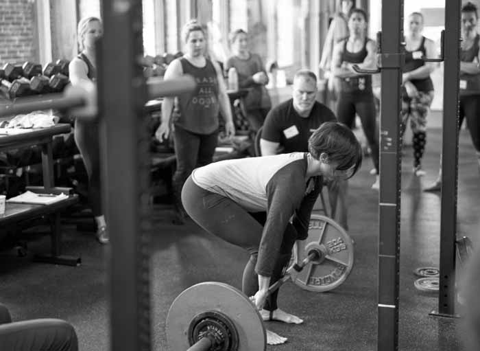 StrongFirst foundations workshop, instructing the deadlift